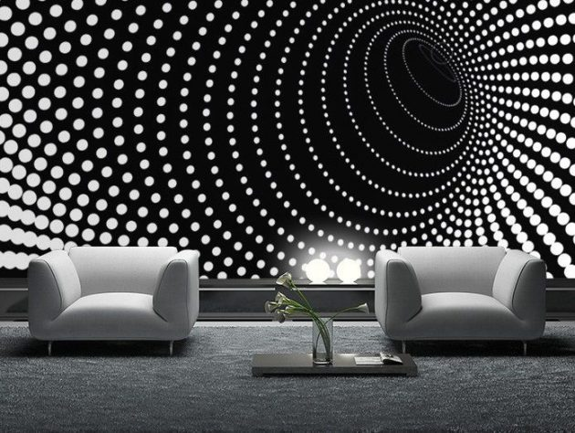 Motif Minimalis 15 Outstanding Wall Art Ideas Inspired By Optical Illusions