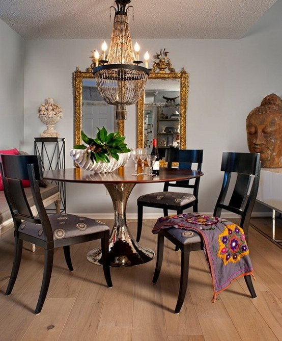Boho Look Boho Style Dining Room- A Real Hit This Summer