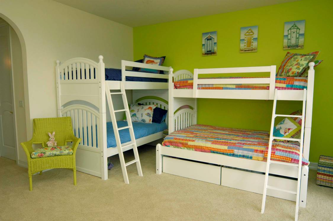 18 Creative Solutions For Decorating Child S Room For More Kids