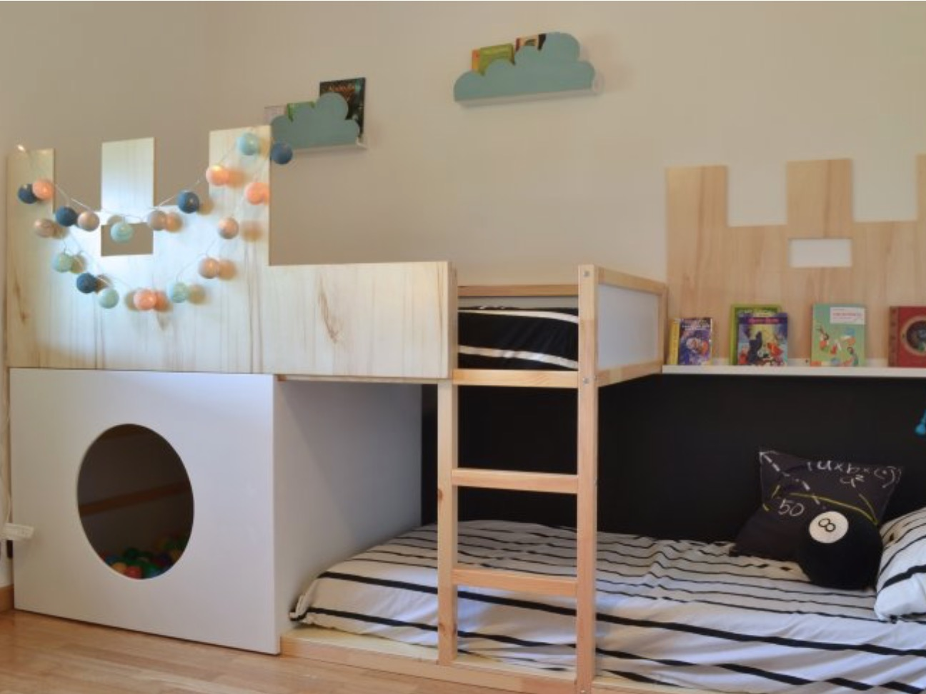 Snooze Bunk Beds 18 Awesome Ikea Bunk Bed Hacks Your Kids Will Love