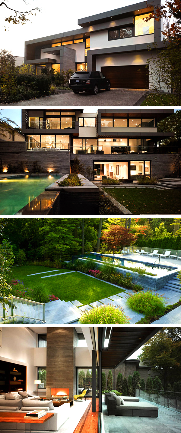Architects Toronto Toronto Residence By Belzberg Architects In Toronto Canada