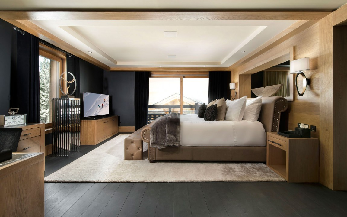Chambre A Coucher Design Photos Inspiring Modern Chalet Interior Design From French Alps