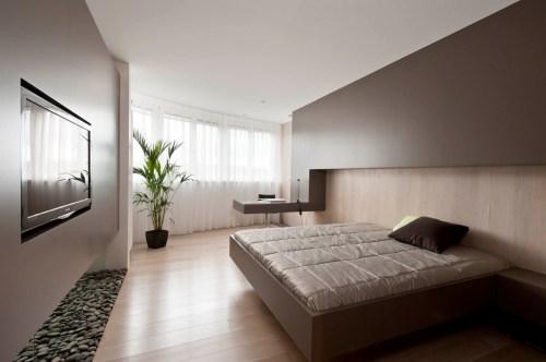 Medium Of Modern Bedroom Interior Design