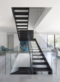 Simple Modern House with an Amazing Floating Stairs ...