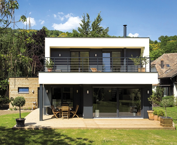 Toiture Terrasse Knauf Reportage: Woow4 - Architecture Bois Magazine - Maisons