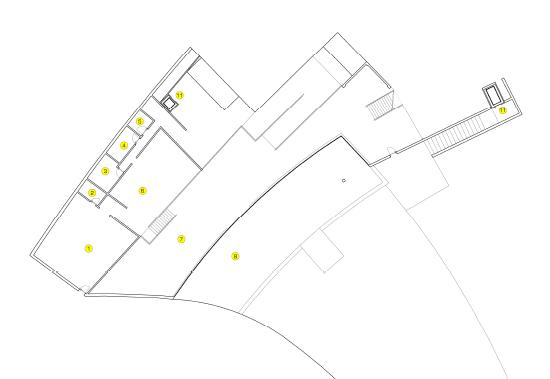 wiring zones in walls