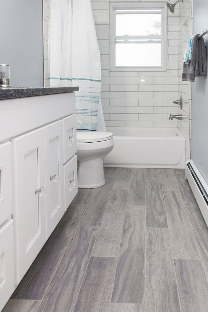 White Wood Floor Bathroom Ideas Architecturein