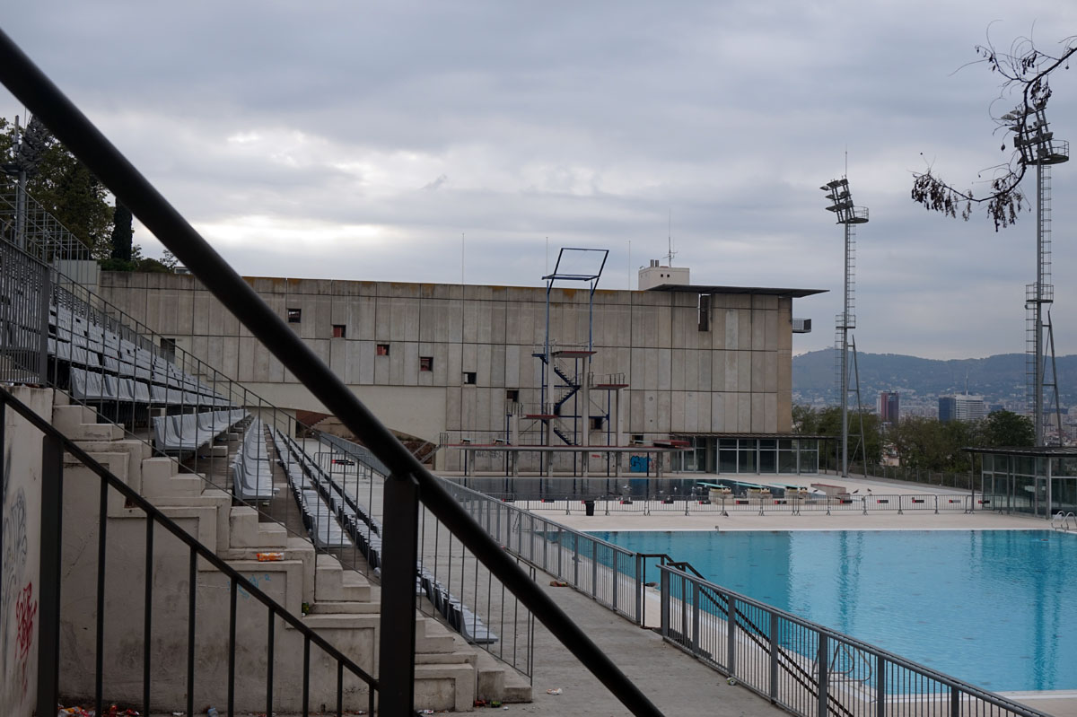 Piscina Municipal Montjuic 2017theme Architecture Of The Games