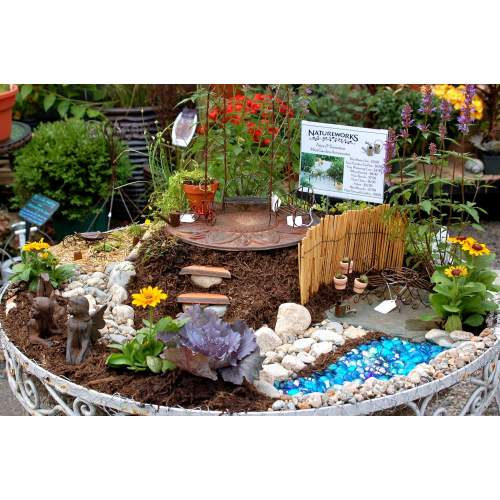 Medium Crop Of Fairy Garden Waterfall