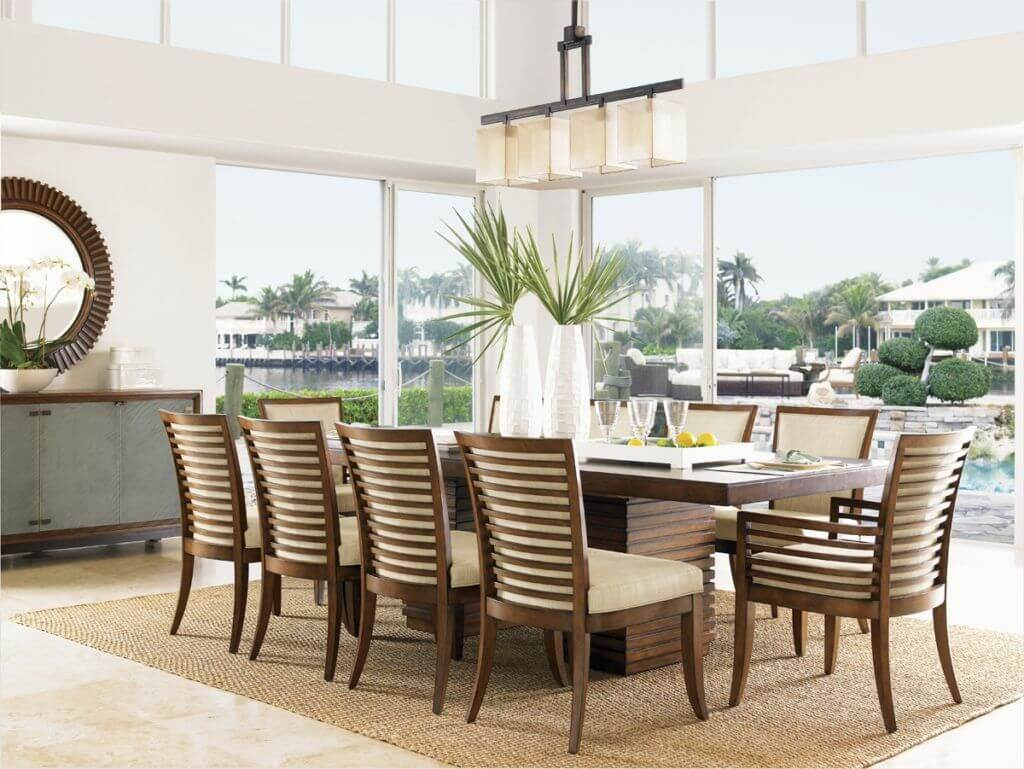 Tropical Dining Room Generate Your House With Some Tropical Dining Room Ideas