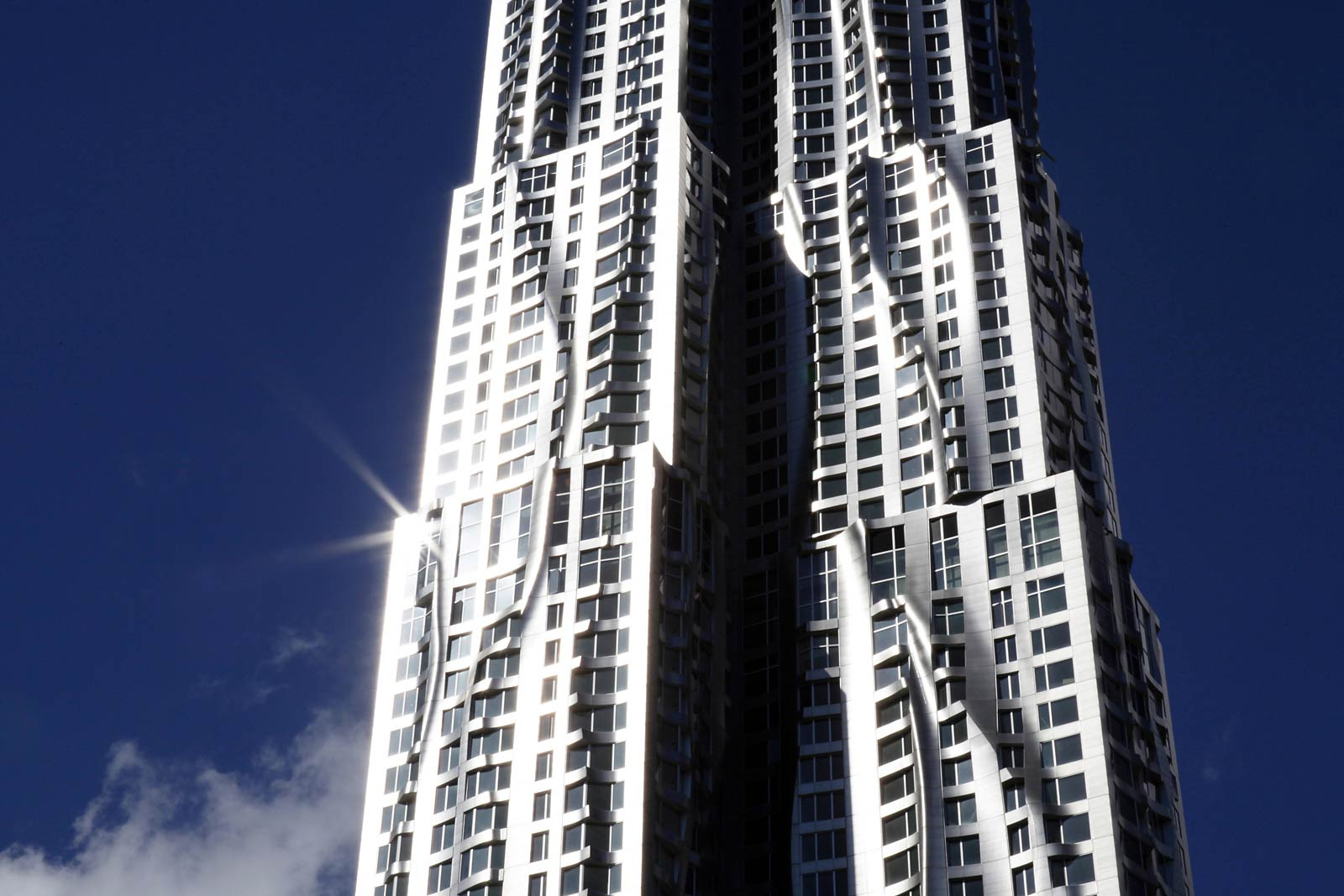 Tallest Residential Building Nyc New York By Gehry Architecture Style