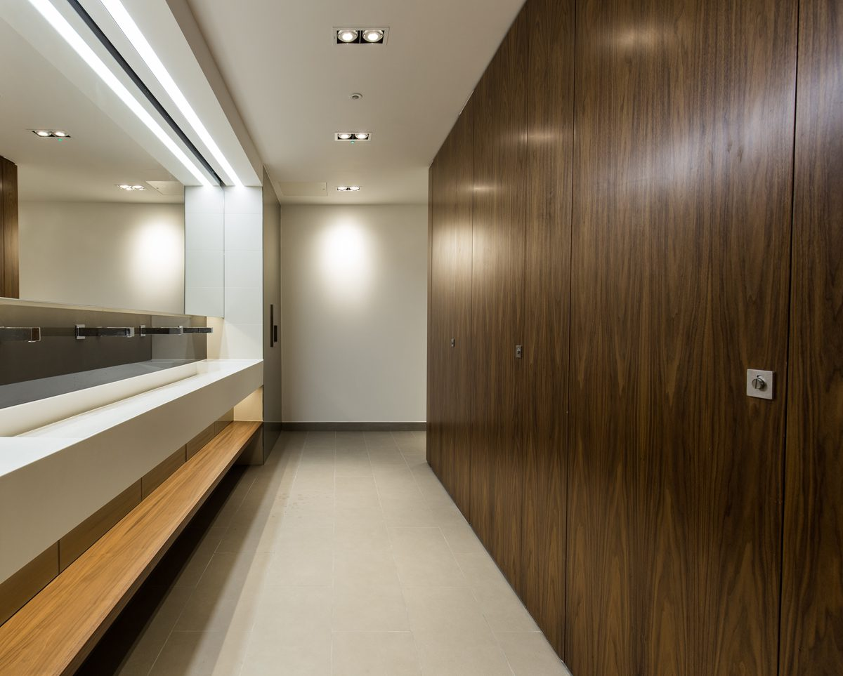 Creating Contemporary Commercial Washrooms Architecture Today