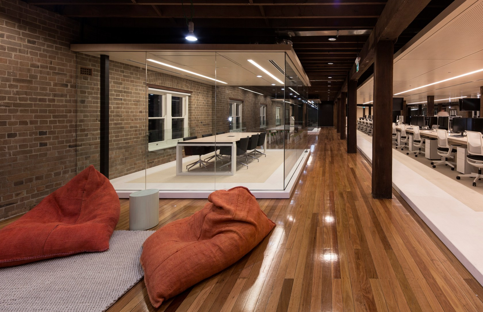 Office Works Sydney Ansarada Office Sydney Architizer