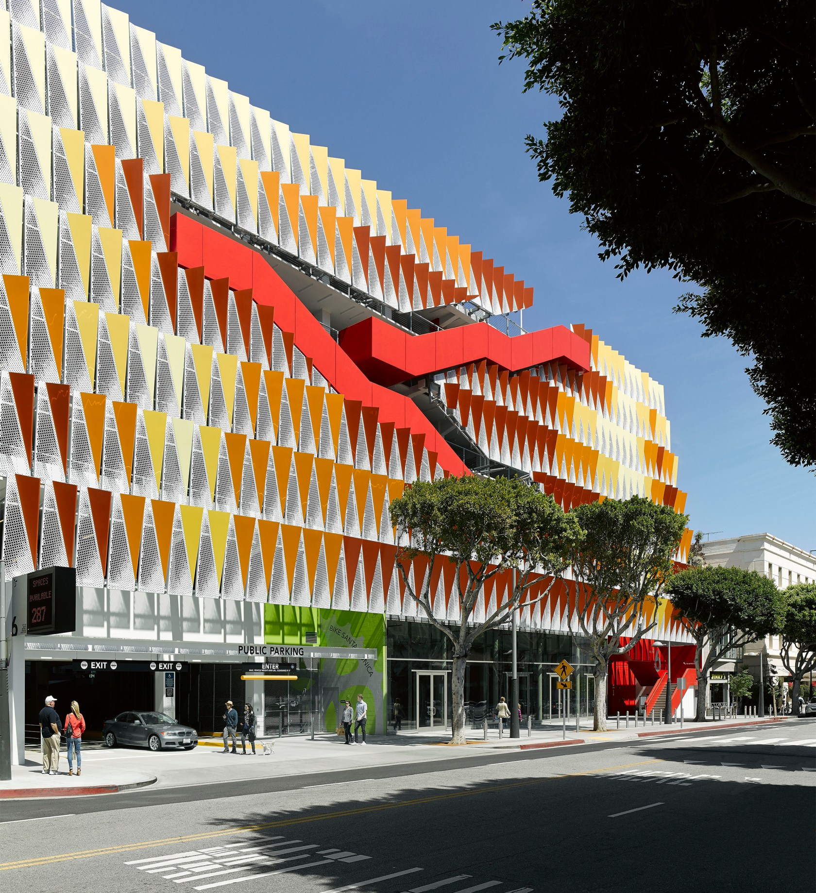 Marco Polo Tower City Of Santa Monica Public Parking Structure #6 - Architizer