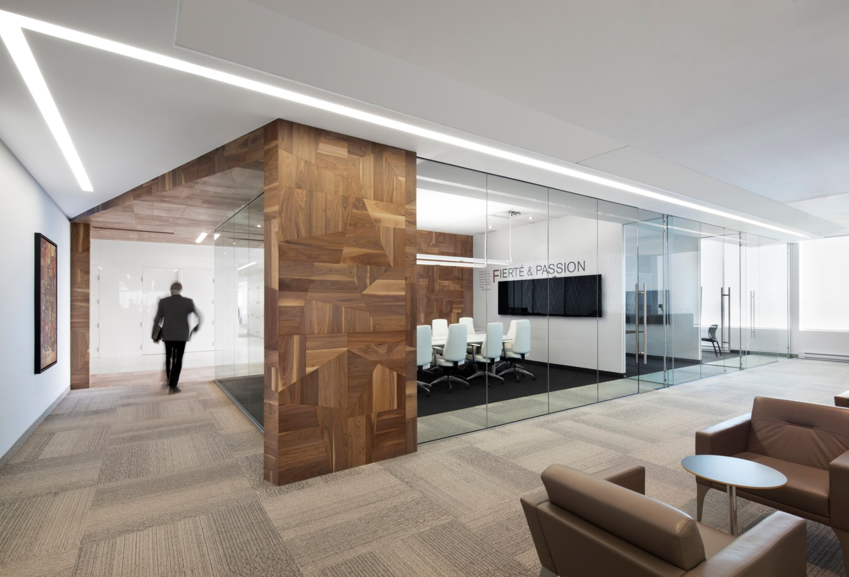 Construction Office Decorating Ideas Offices Broccolini Construction Architizer