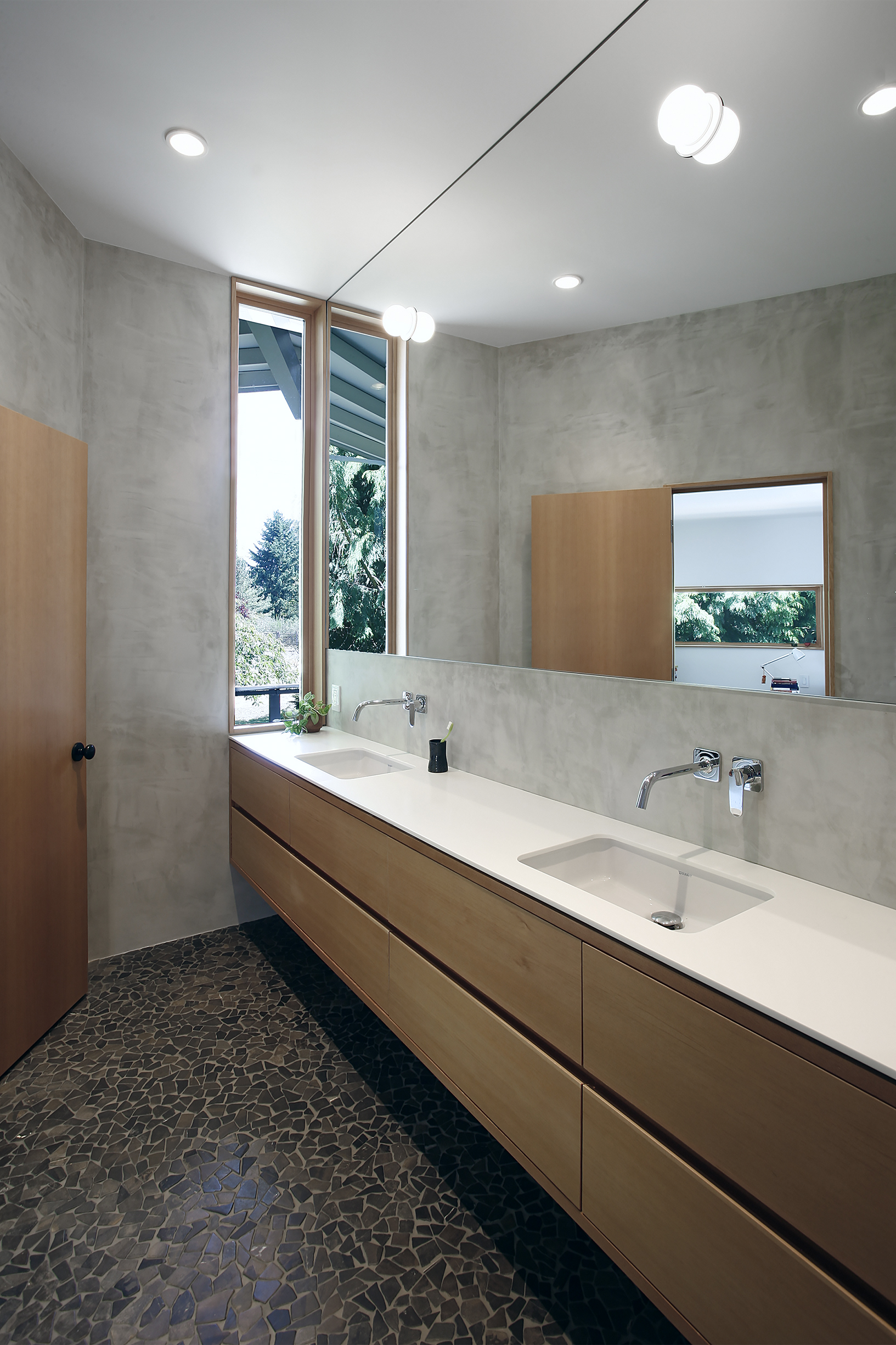 Bathroom Mirrors Seattle Bridle Trails Remodel Architizer