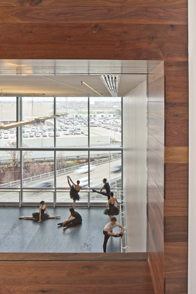 Hogan Lovells Chicago Houston Ballet Center For Dance Architizer