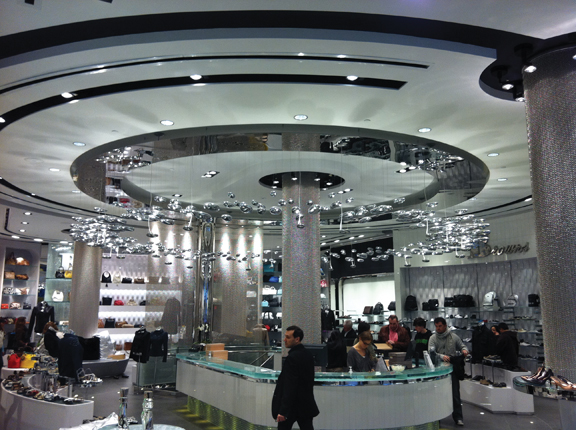 Lighting Stores In Montreal Mercury Custom Installation Browns Shoes Store Montréal