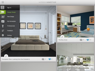 Autodesk introduces Homestyler for iPad | Architosh