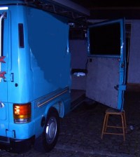 Schiebetr, mittlere Fhrung - MB100 Archiv