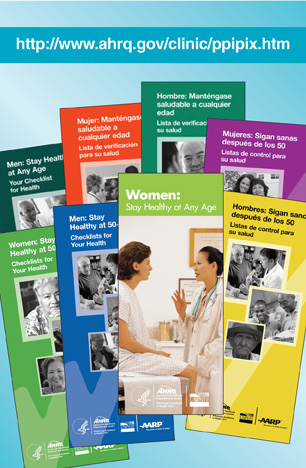 Marketing Tools for Prevention and Care Management AHRQ Archive - pamphlet sample