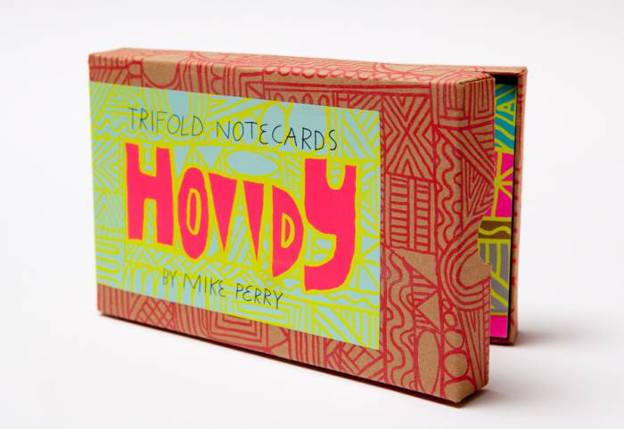 MIKE PERRY Howdy Note Cards