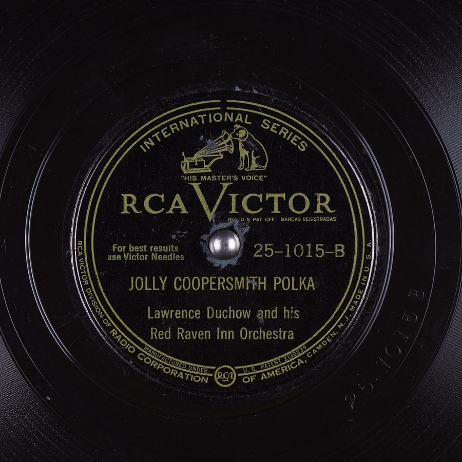 Red Raven Orchestra Jolly Coopersmith Polka Lawrence Duchow And His Red
