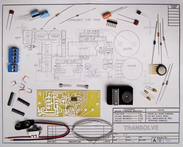 EMRR\u0027s Model Rocket Review Transolve - P6-K Altimeter Kit