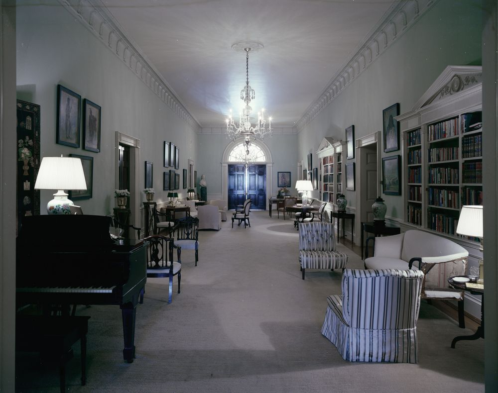Programming Jobs White House Rooms: Ground Floor Hall, Entrance Hall