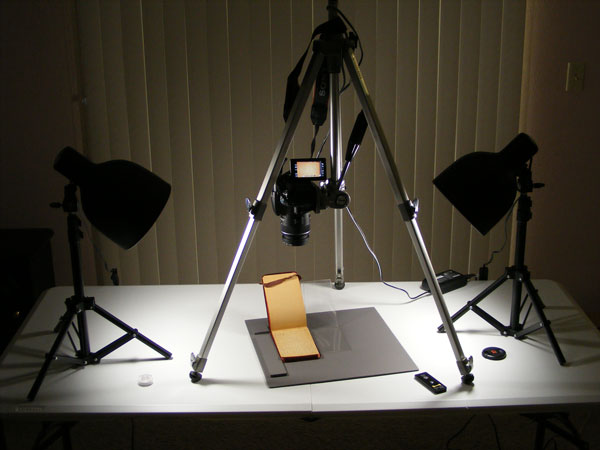 Using Copy Stands With Cameras