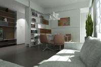 Modern living room progetto Franco Bernardini visual ...