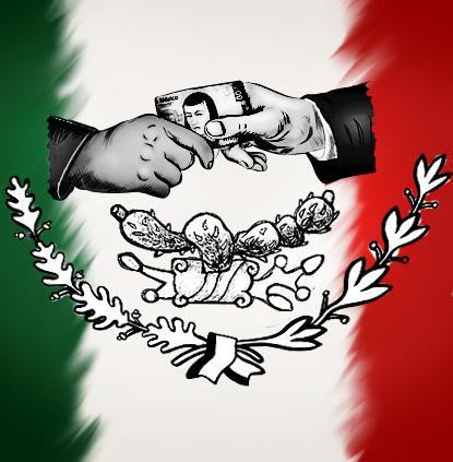 Resultado de imagen para lucha anticorrupción mexico caricatura
