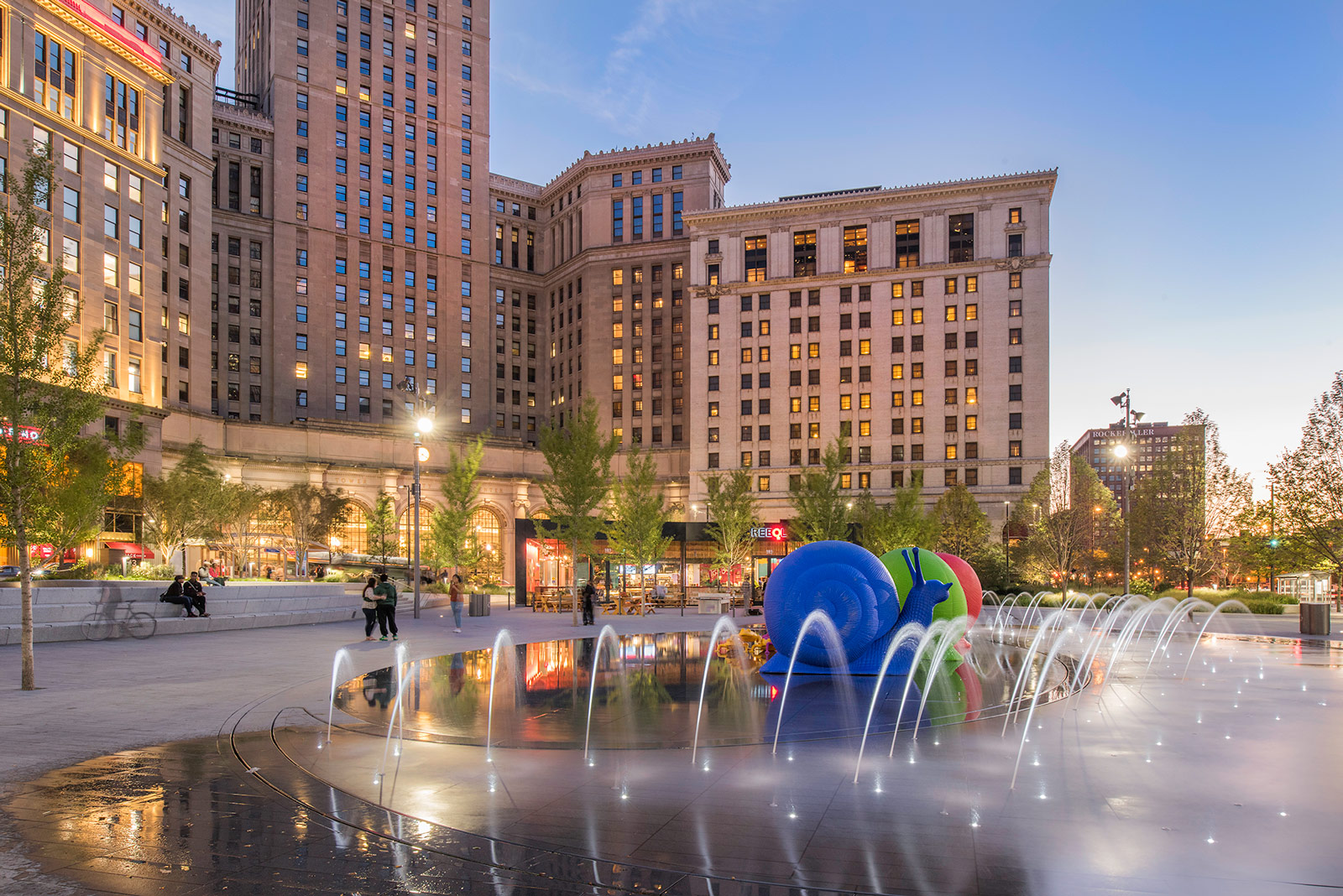 Architects Cleveland Ohio James Corner And Narchitects Team Up For Public Square