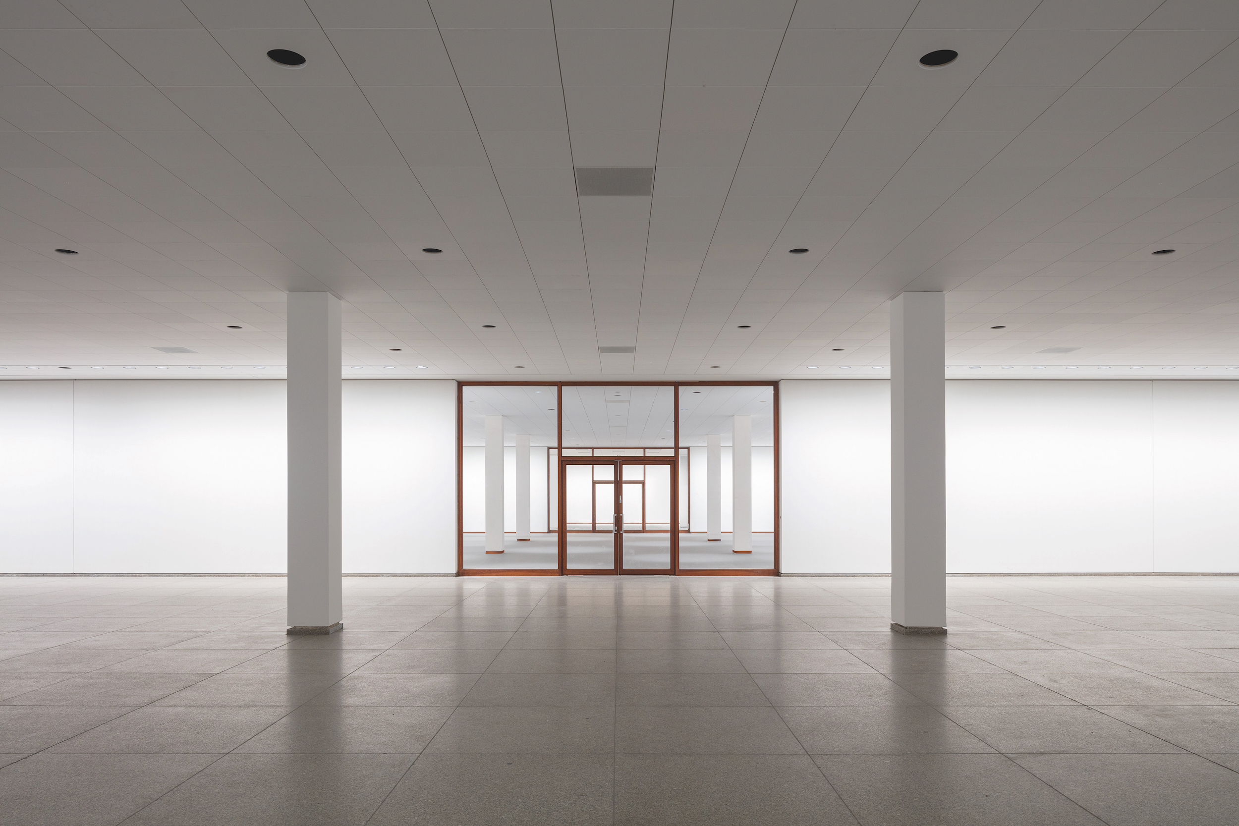 Chipperfield Architects Refresh Of The Neue Nationalgalerie Nearing Completion In Berlin
