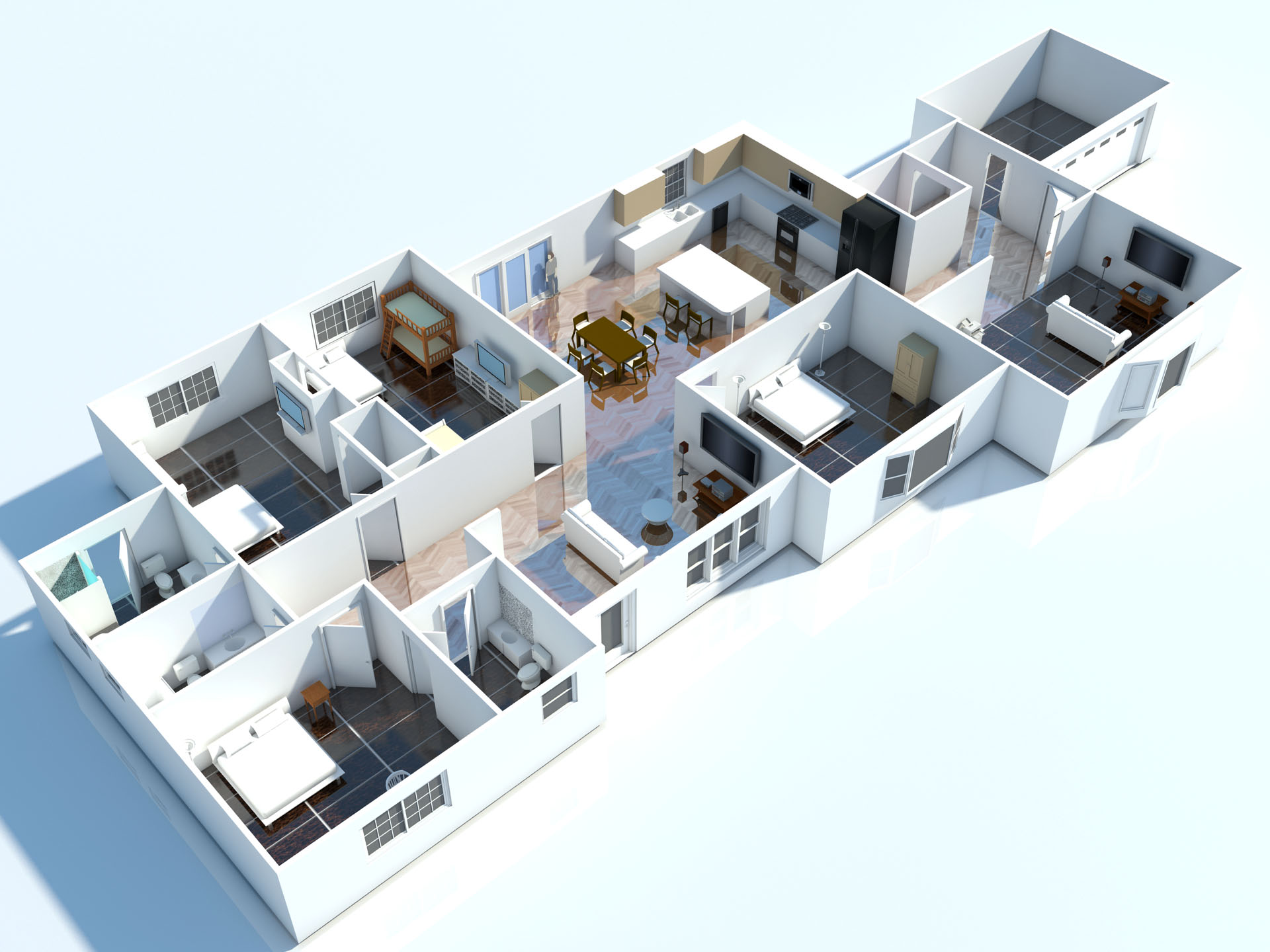 3d Planer Interior 3d Floor Plan 3d Floorplans And Visuals