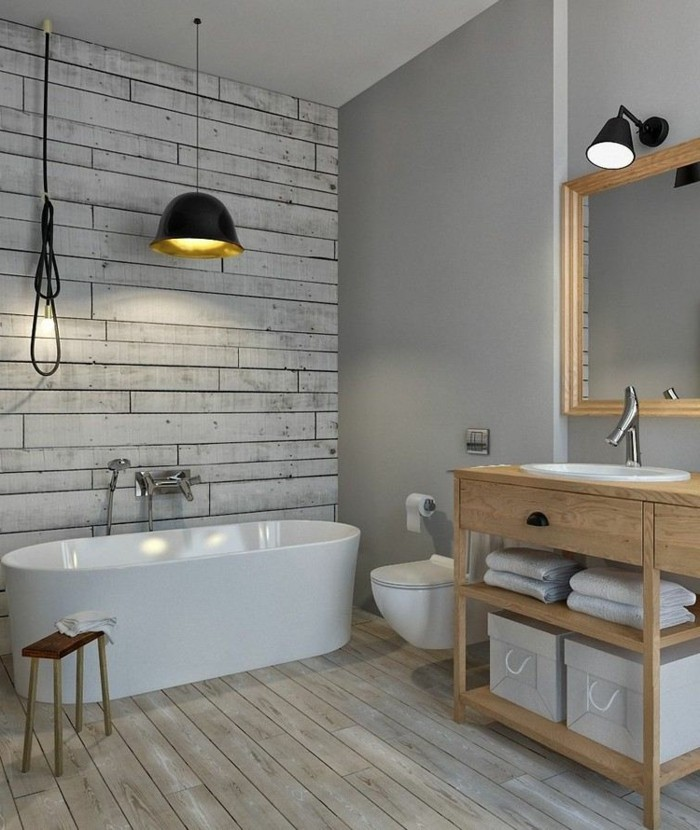1001 Ideas For Bathroom Remodel Ideas 50 Suggestions - Bad Landhausstil Modern