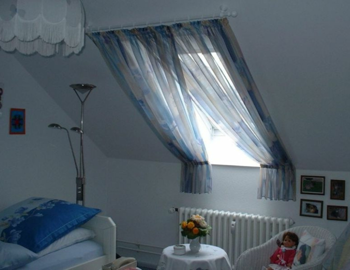 1001 Ideas For Gorgeous Attic Room Curtain Ideas