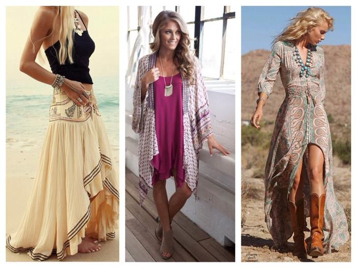Boho Style Chic Outfits With Romantic Vintage Charm