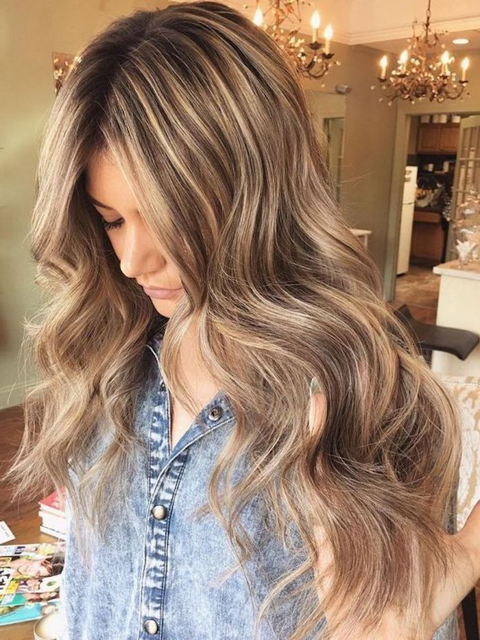Dunkle Haare Helle Strähnen 1001 + Ideas For Brown Hair With Blonde Highlights Or Balayage