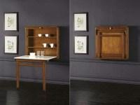 La table murale rabattable est un meuble moderne qui ...