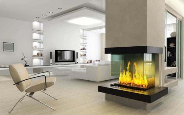 Interieur contemporain design idee maison deco Maison email
