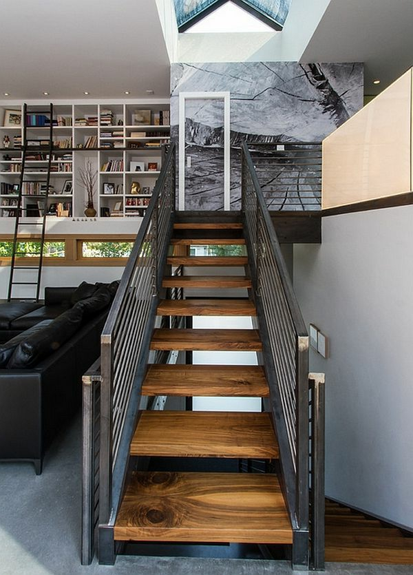Decoration De Charme Pour La Maison Designs Captivants D'escalier Loft - Archzine.fr