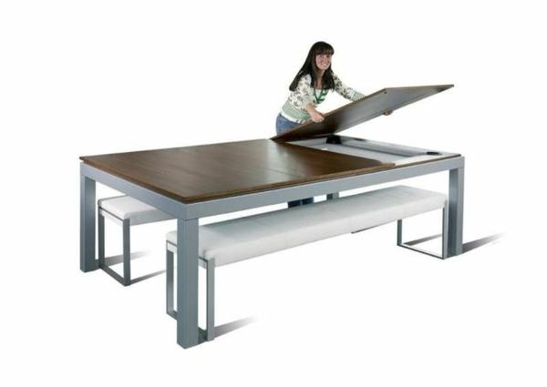 la table billard convertible une solution jolie et - Billard Table A Manger