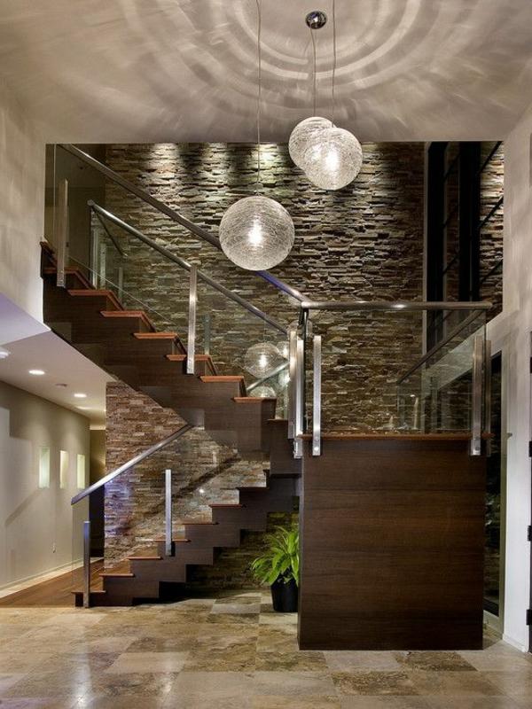 Wallpaper Batu Alam 3d Designs D Escaliers Avec Garde Corps En Verre Archzine Fr