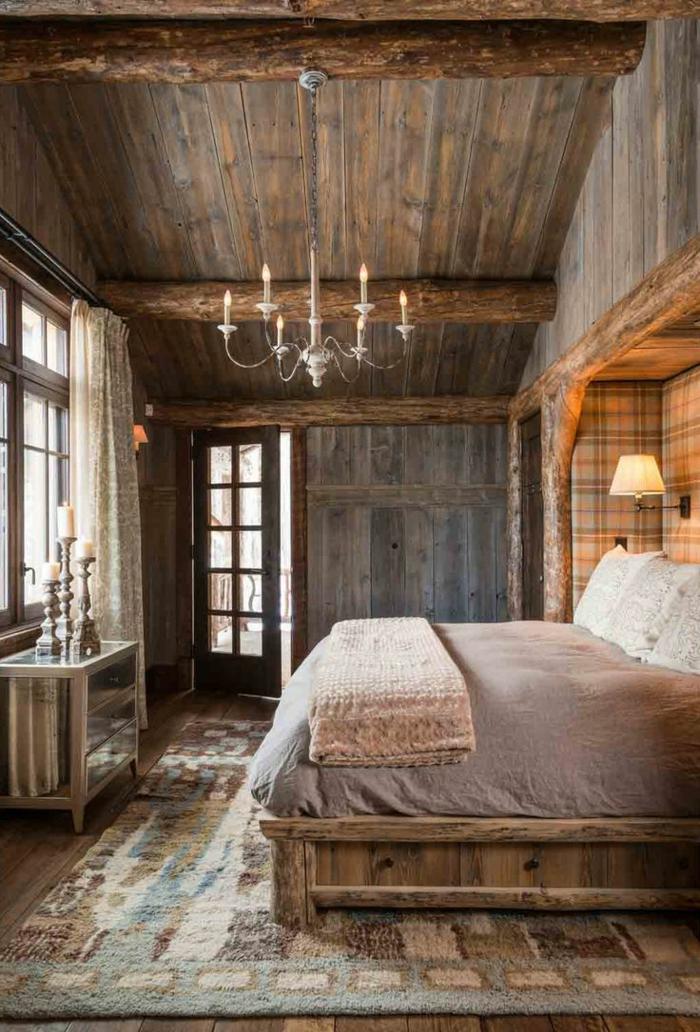 Chambre A Coucher En Bois Massif Moderne | Belle Villa Espagnole ...