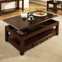 La table basse relevable pour votre salon fonctionnel ...