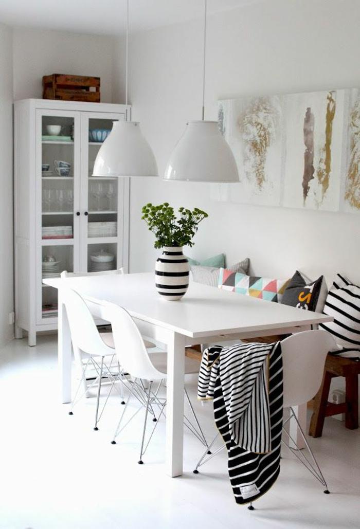 83 photos comment aménager un petit salon? Salons - decoration salle a manger contemporaine