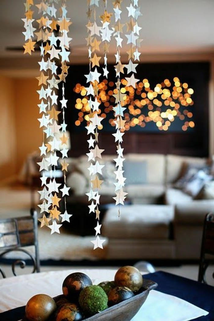 Photo Decoration Maison Nos Diy Idées En Photos Avec Une Guirlande De Noël!