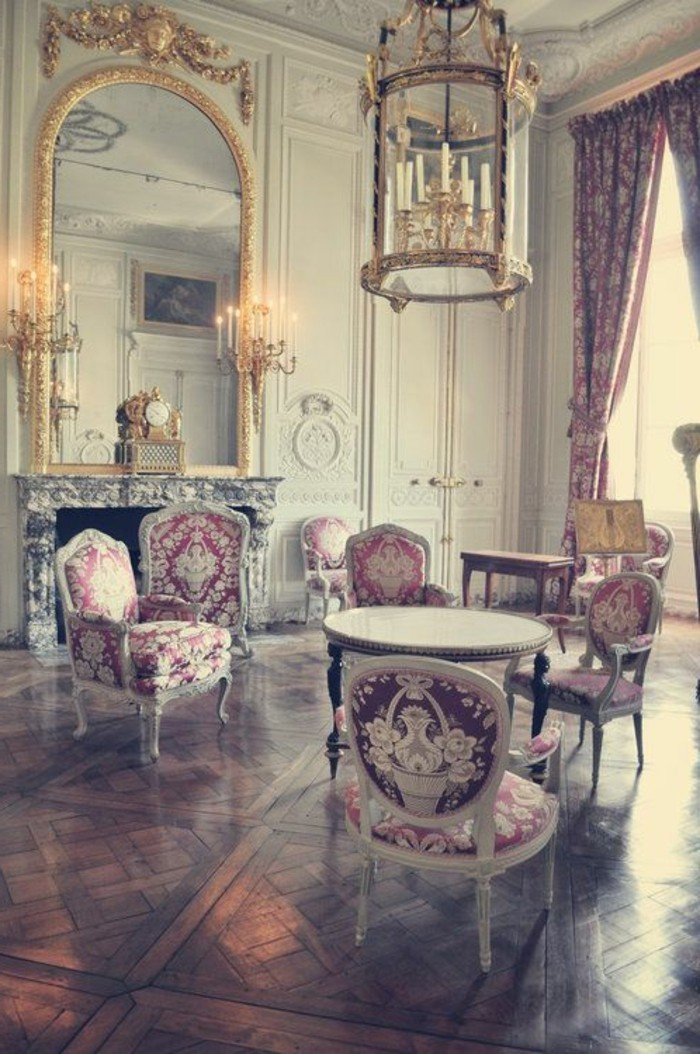 Decoration Interieur Design Pas Cher La Chambre Style Baroque - Nos Propositions En Photos!