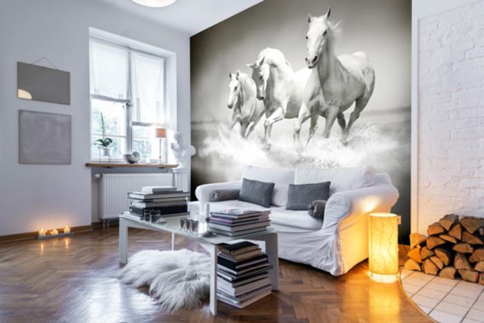 3d Wallpaper Designs For Bedrooms Sublimez Vos Int 233 Rieurs En Mettant Un Papier Peint Blanc